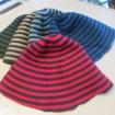 cohn laine rayé/ 2-côté
