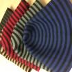 cohn laine rayé / 2-côté