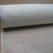 1M tissu sisal blanc