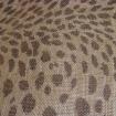 1M sinamay leopard