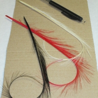 turned feather 22CM