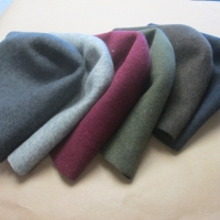 wool hood melange