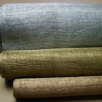 tissu sisal métalic