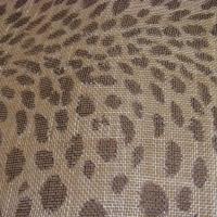 1M tissu sisal léopard