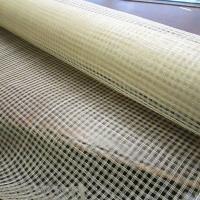1M tissu sisal carreaux