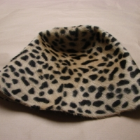 hood hait leopard double side